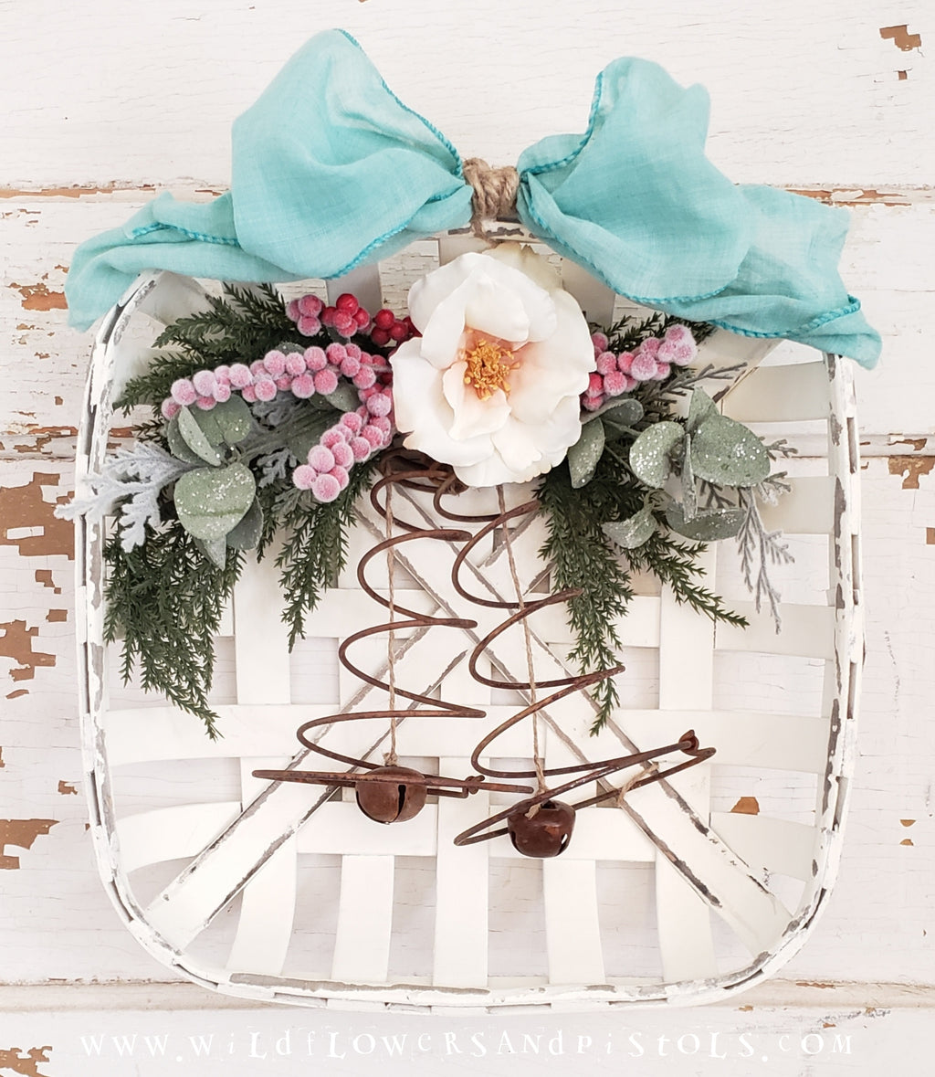 Vintage Jingle Bell Wreath