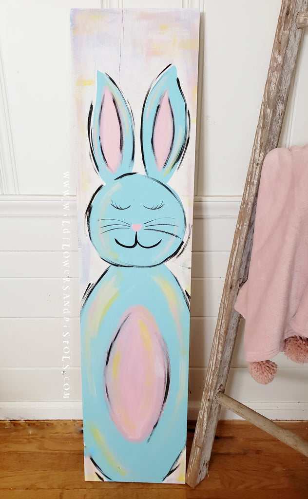 Easter Bunny Sign Class