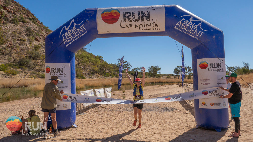 Run Larapinta Stage Race Experience by Emily Gannon