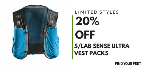 Salomon S/LAB Sense Ultra Trail Running Vest Packs