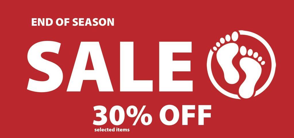 End Of Season 30% Off Sale