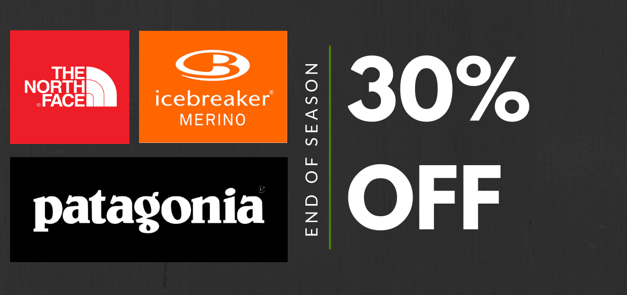Find Your Feet End Of Season SALE 30% OFF Patagonia The North Face Icebreaker