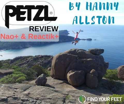 Petzl Nao+ Reactive Reactik+ Head Torch Review Find Your Feet Hanny Allston Trail Running Ultra Running