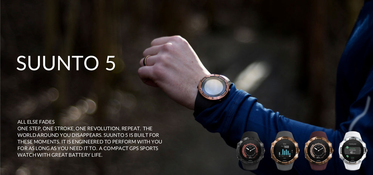 Suunto 5 sport GPS watch