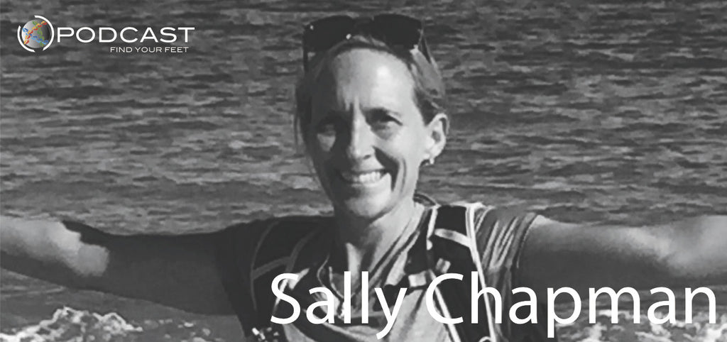 Find Your Feet Podcast Dr. Sally Chapman