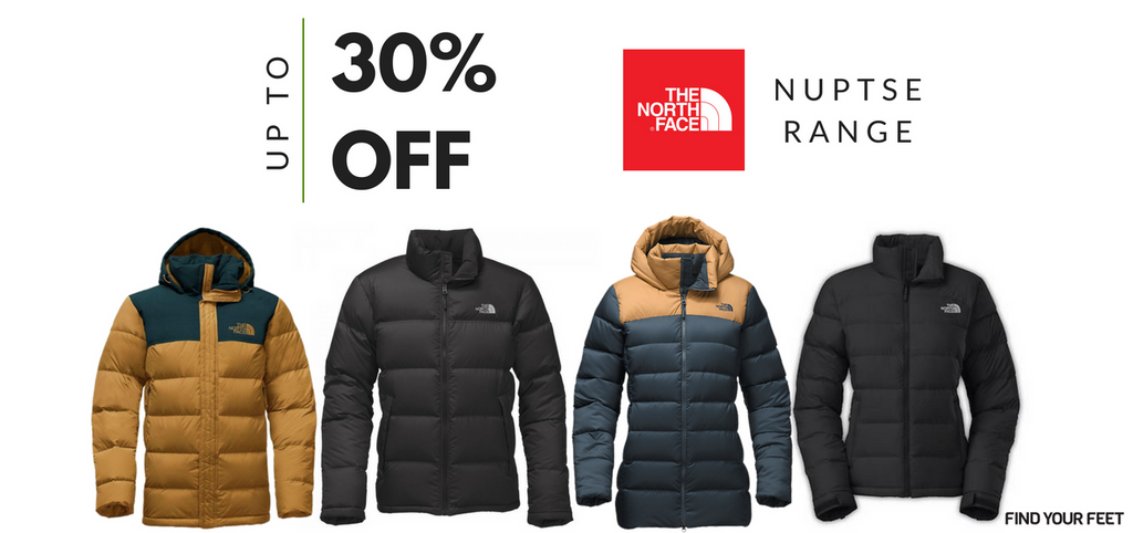 The North Face Nuptse Find Your Feet 3e2393c79