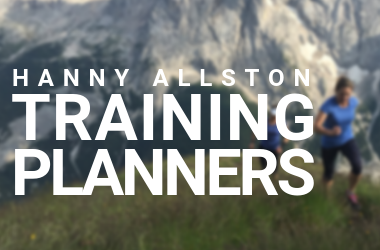 Hanny Allston Trail Running Training Planners