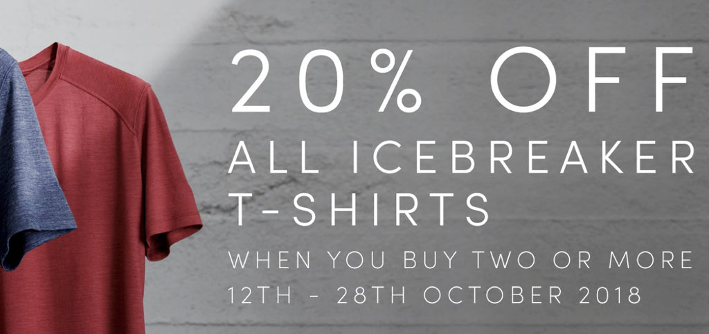 Icebreaker T-Shirt 20% OFF Find Your Feet