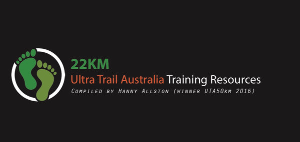 Ultra Trail Australia Training Resources