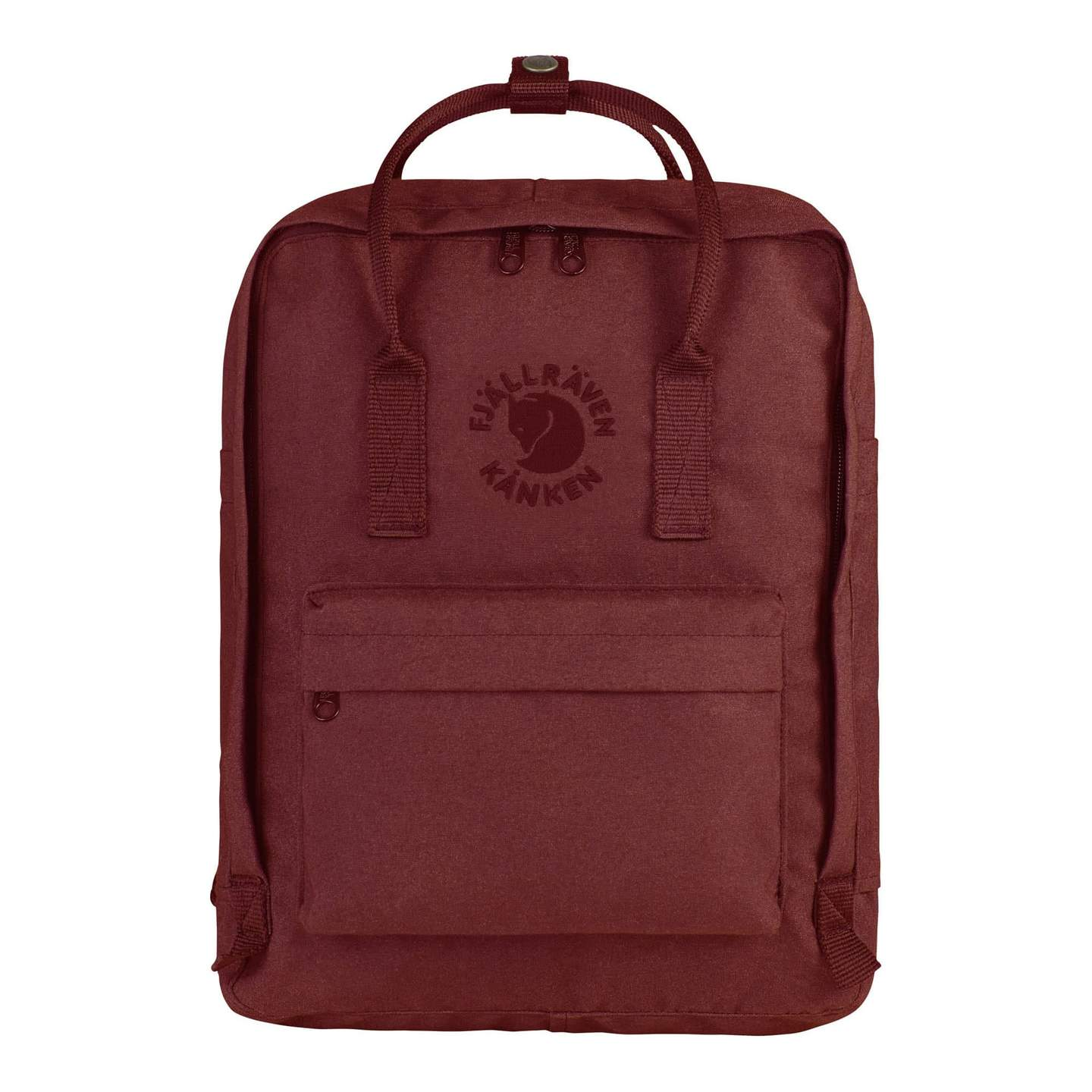 Fjallraven Re-Kanken Backpack - Ox Red - Find Your Feet Australia Hobart Launceston Tasmania