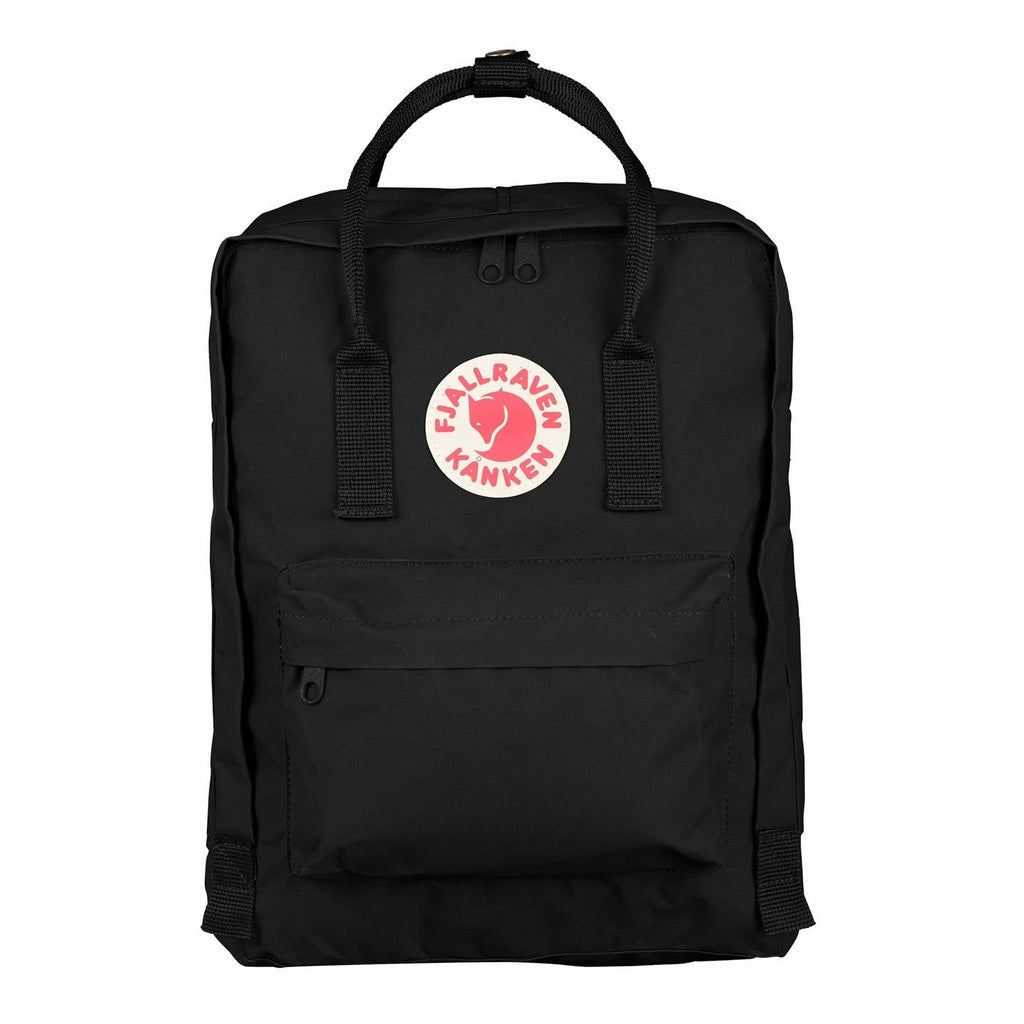 Fjallraven Kanken Backpack - Black - Find Your Feet Australia Hobart Launceston Tasmania