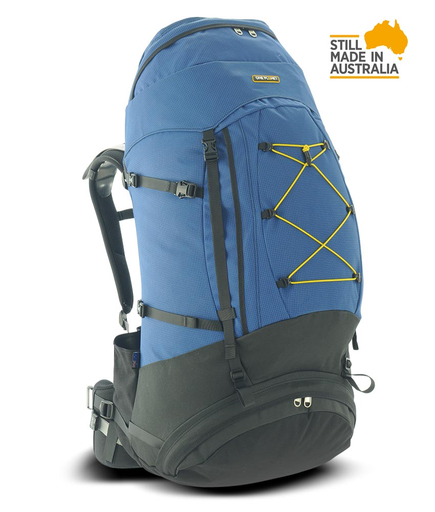 One Planet Larrikin Backpack - Pacific/Black - Find Your Feet Australia Hobart Launceston Tasmania
