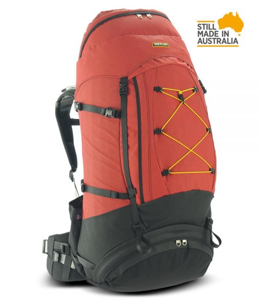One Planet Larrikin Backpack - Red/Black - Find Your Feet Australia Hobart Launceston Tasmania