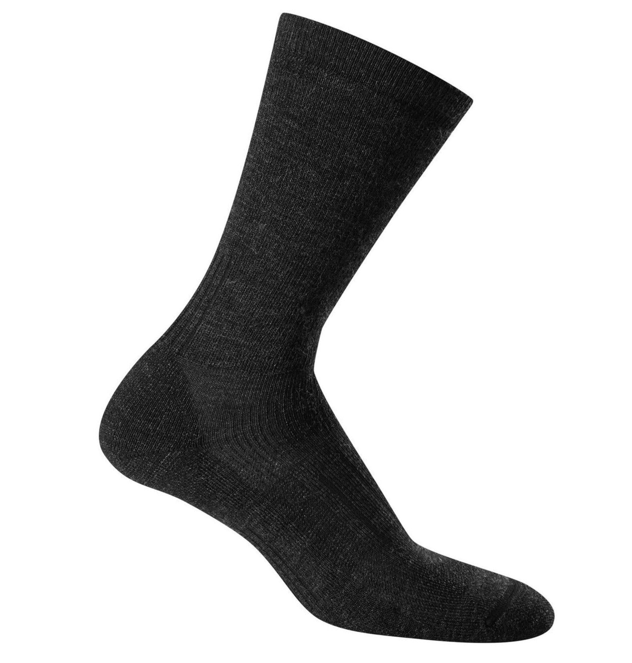 Icebreaker Hike Medium Crew Socks (Men's) SS20 - Jet Heather - Find Your Feet Australia Hobart Launceston Tasmania