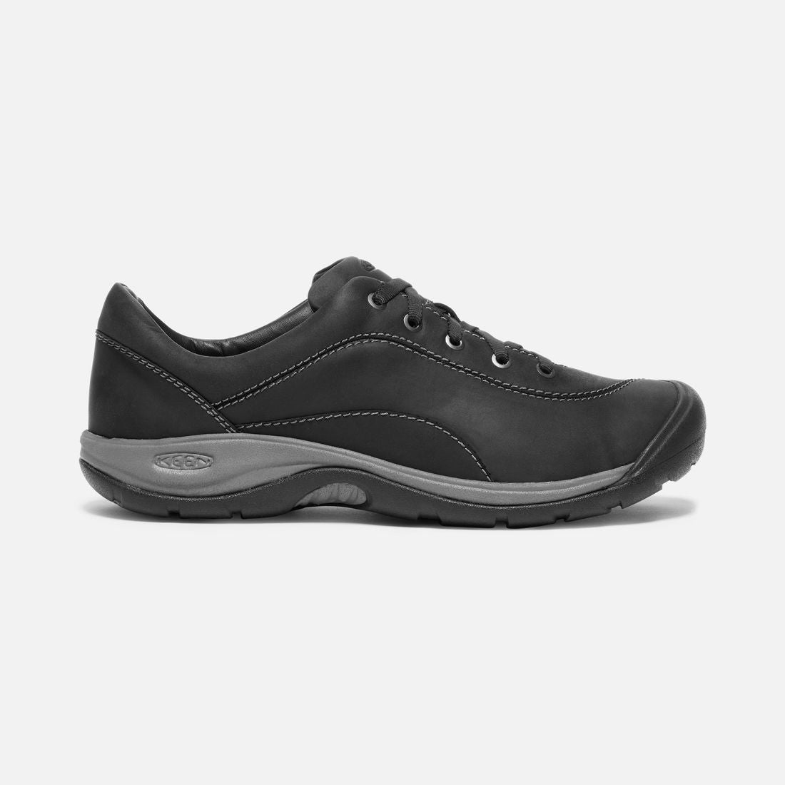 Keen Presidio II Shoe (Women's) - Black Steel Grey - Find Your Feet Australia Hobart Launceston Tasmania