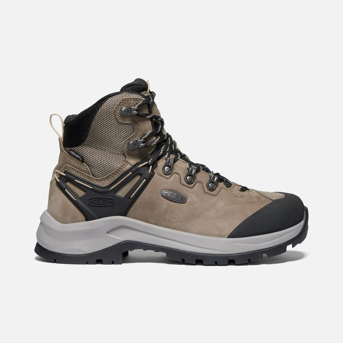Keen Wild Sky Mid Waterproof Boot Brindle Black (Women's) - Find Your Feet Australia Hobart Launceston Tasmania