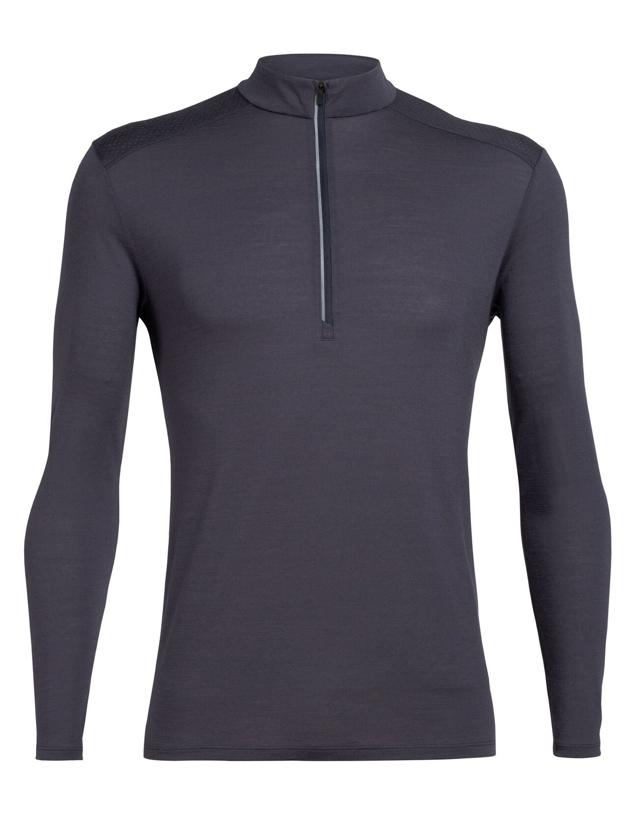 Icebreaker Amplify LS Half Zip (Men's) - Panther - Find Your Feet Australia Hobart Launceston Tasmania'