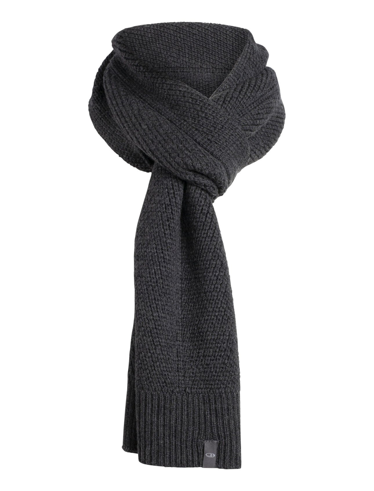 Icebreaker Waypoint Scarf (Unisex) W20 - Charcoal Heather - Find Your Feet Australia Hobart Launceston Tasmania