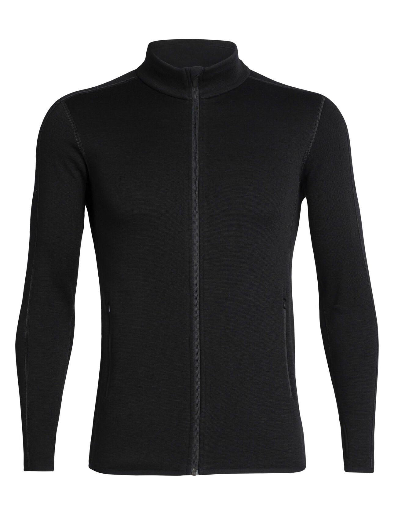 Icebreaker Elemental LS Zip (Men's) W20 - Black - Find Your Feet Australia Hobart Launceston Tasmania