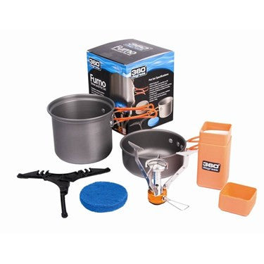 360° Furno Stove and Pot Set - Find Your Feet Australia Hobart Launceston Hiking Cooking