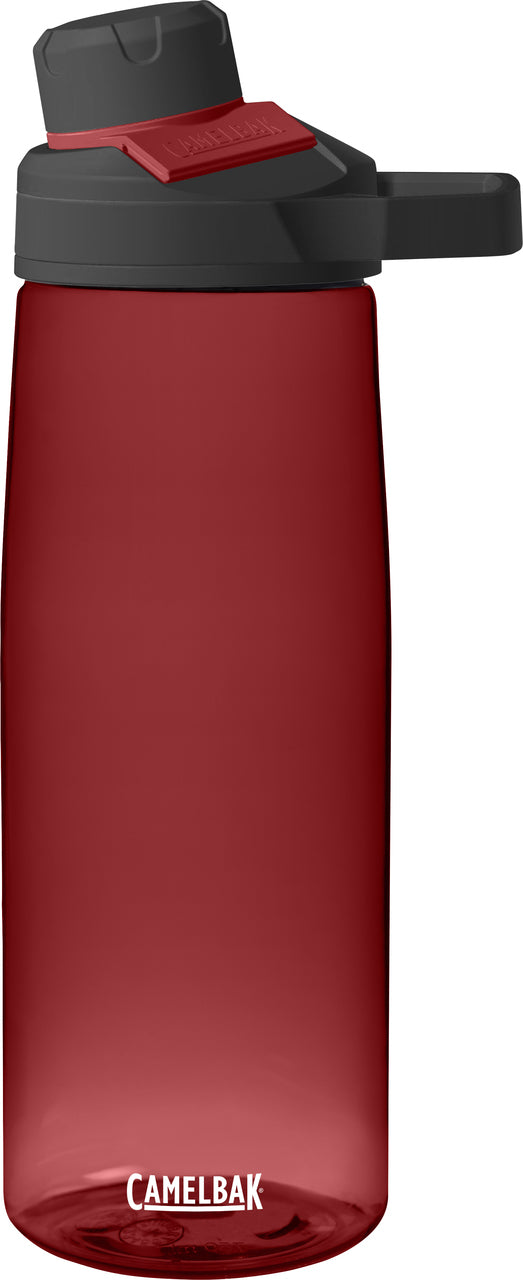CAMELBAK CHUTE MAG WATER BOTTLE SPORTS HYDRATION FLASK RED FREE P+P 0.75L