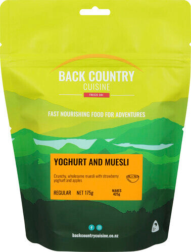 Back Country Yoghurt and Muesli Regular - Find Your Feet Australia Hobart Launceston Tasmania