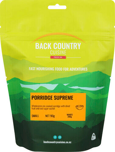 Back Country Cuisine Porridge Supreme - Find Your Feet Australia Hobart Launceston Tasmania