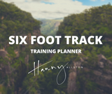 6 Foot Track Trail Running Training Planner Hanny Allston Find Your Feet Australia