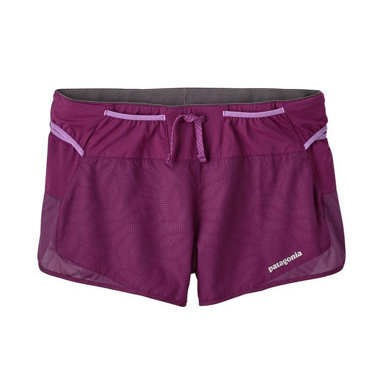 "Patagonia Strider Pro 2 1/2"" Shorts (Women's) - Hexy/Geode Purple - Find Your Feet Australia Hobart Launceston Tasmania"