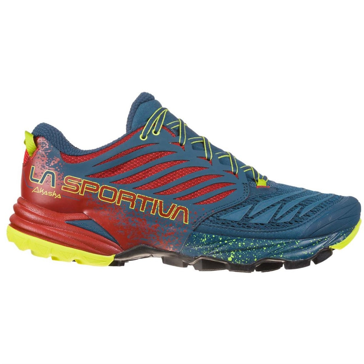 La Sportiva Akasha Trail Running Shoes (Men's) - Opal Chili - Find Your Feet Australia Hobart Launceston Tasmania