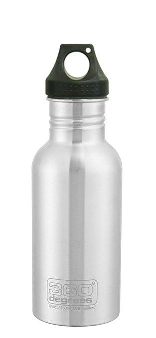 360° Stainless Steel Bottle - Stainless - Find Your Feet Australia Hobart Launceston Hiking Camping