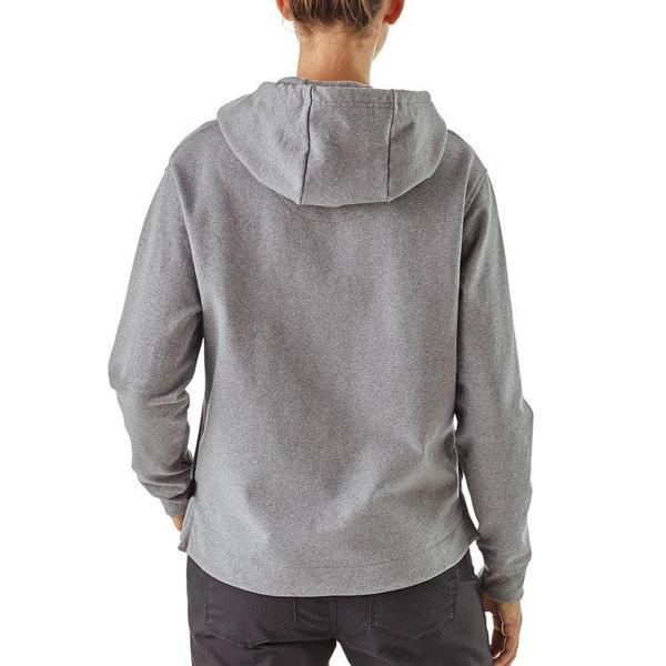Patagonia Pastel P-6 Logo Uprisal Hoody (Women's) - Gravel Heather - Find Your Feet Australia Hobart Launceston Tasmania