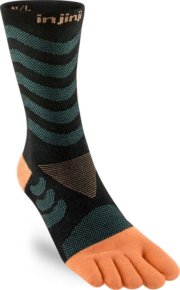 Injinji Ultra Run Crew Toesocks (Women's) - Dive - Find Your Feet Australia Hobart Launceston Tasmania