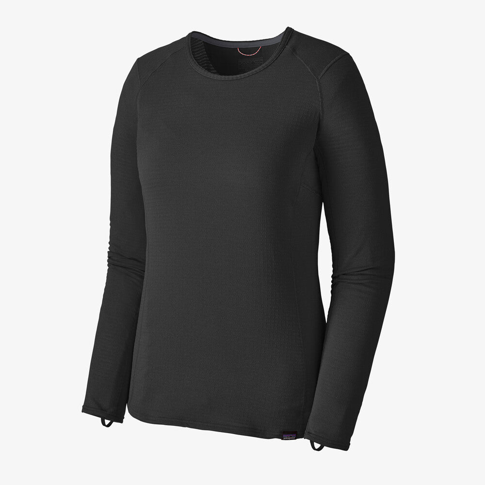 Patagonia Capilene Thermal Weight Crew (Women's) - Black - Find Your Feet Australia Hobart Launceston Tasmania