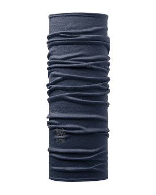 Buff Merino Wool Neck Tube - Find Your Feet - Hobart Australia Patterned Solid Denim