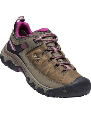 Keen Targhee III Waterproof Shoe (Women's) Weiss Boysenberry Find Your Feet Australia Hobart Tasmania