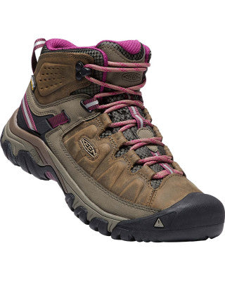 Keen Targhee III Mid Waterproof Boot (Women's) Weiss/Boysenberry Find Your Feet Tasmania Australia Hobart