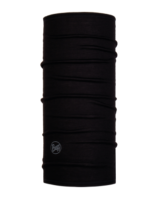 Buff Merino Wool Neck Tube - Find Your Feet - Hobart Australia Solid Black
