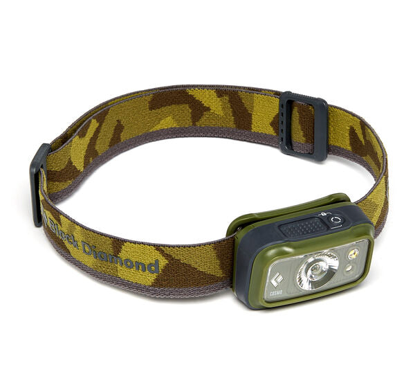 Black Diamond Cosmo 300 Headlamp - Dark Olive - Find Your Feet Australia Hobart Launceston Tasmania