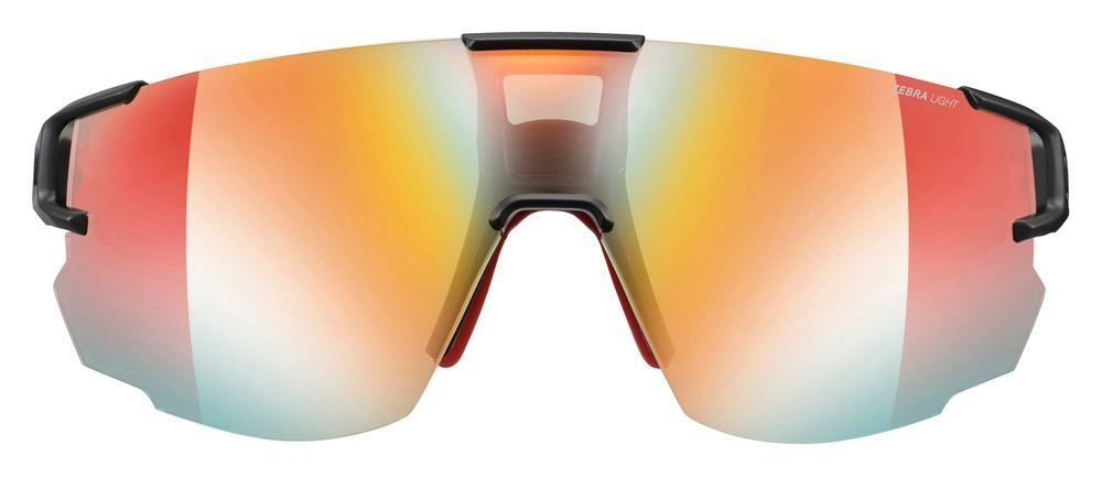 Julbo Aerospeed Zebra Light Sunglasses - Black/Red - Find Your Feet Australia Hobart Launceston Tasmania