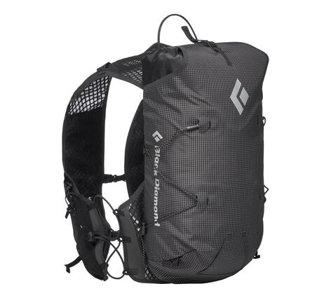 Black Diamond Distance 8L Trail Running Vest Pack - Black - Find Your Feet Australia Hobart Launceston Tasmania