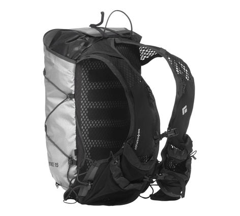 Black Diamond Distance 15L Trail Running Vest Pack - Alloy - Find Your Feet Australia Hobart Launceston Tasmania