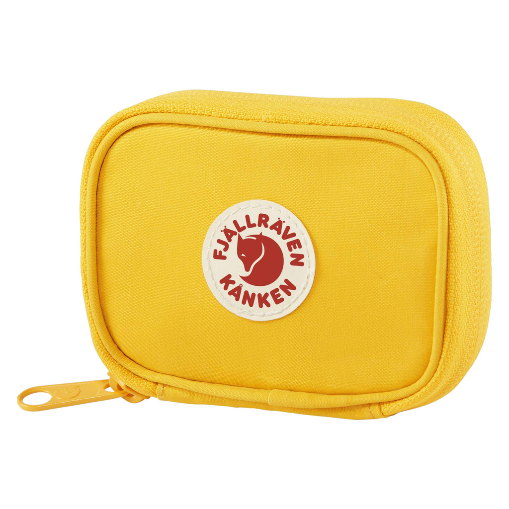 Fjallraven Kanken Card Wallet Warm Yellow - Find Your Feet - Hobart Australia Tasmania Travel Lifestyle Accessories
