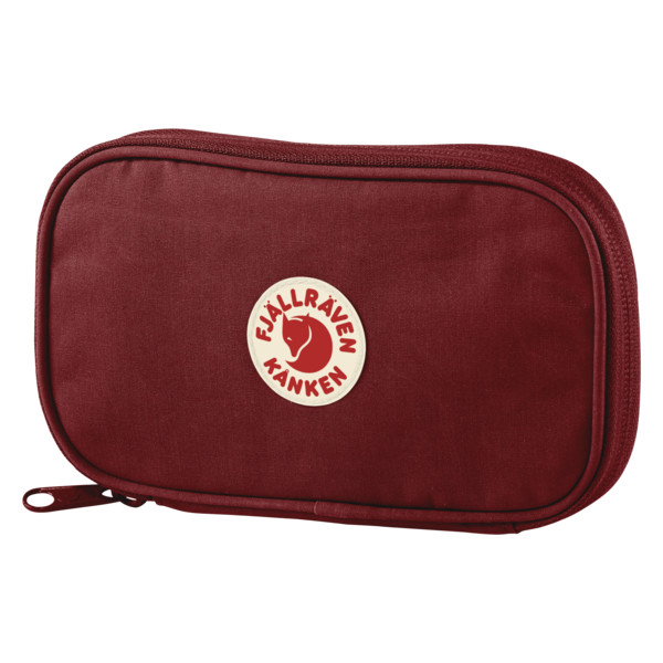 Fjallraven Kanken Travel Wallet - Ox Red - Find Your Feet Australia Hobart Launceston Tasmania