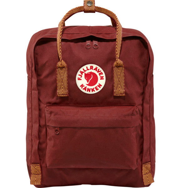 Fjallraven Kanken Backpack - Ox Red Goose Eye - Find Your Feet Australia Hobart Launceston Tasmania