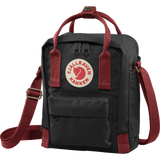Fjallraven Kanken Sling - Black Ox Red - Find Your Feet Australia Hobart Launceston Tasmania