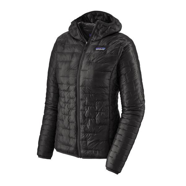 Patagonia Micro Puff Hoody (Women's) FW20 - Black - Find Your Feet Australia Hobart Launceston Tasmania