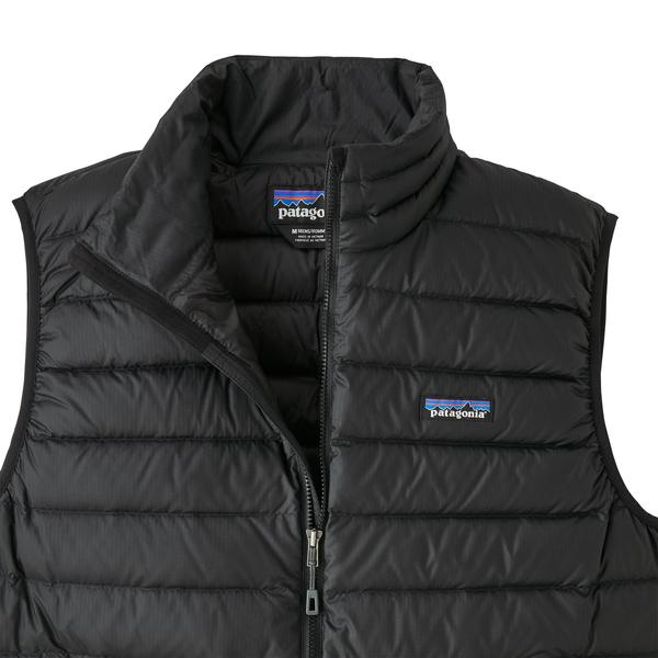Patagonia Down Sweater Vest (Men's) - Black - Find Your Feet Australia Hobart Launceston Tasmania