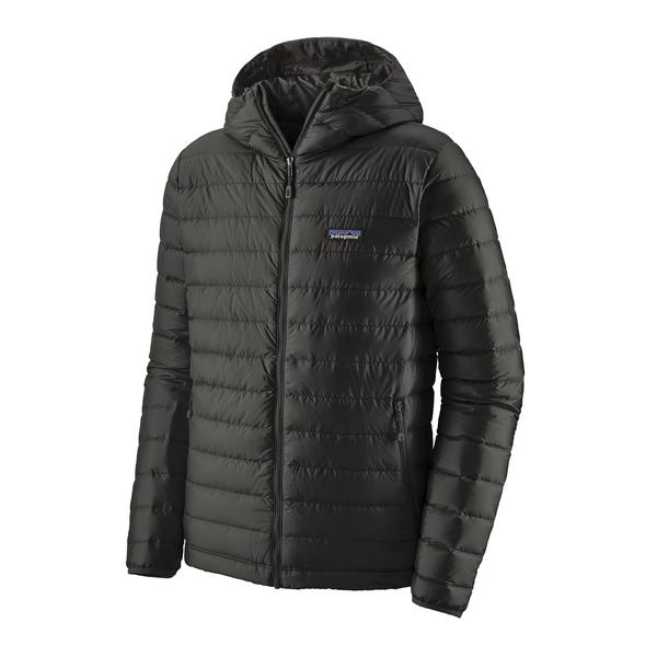 Patagonia Down Sweater Hoody (Men's) FW20 - Black - Find Your Feet Australia Hobart Launceston Tasmania