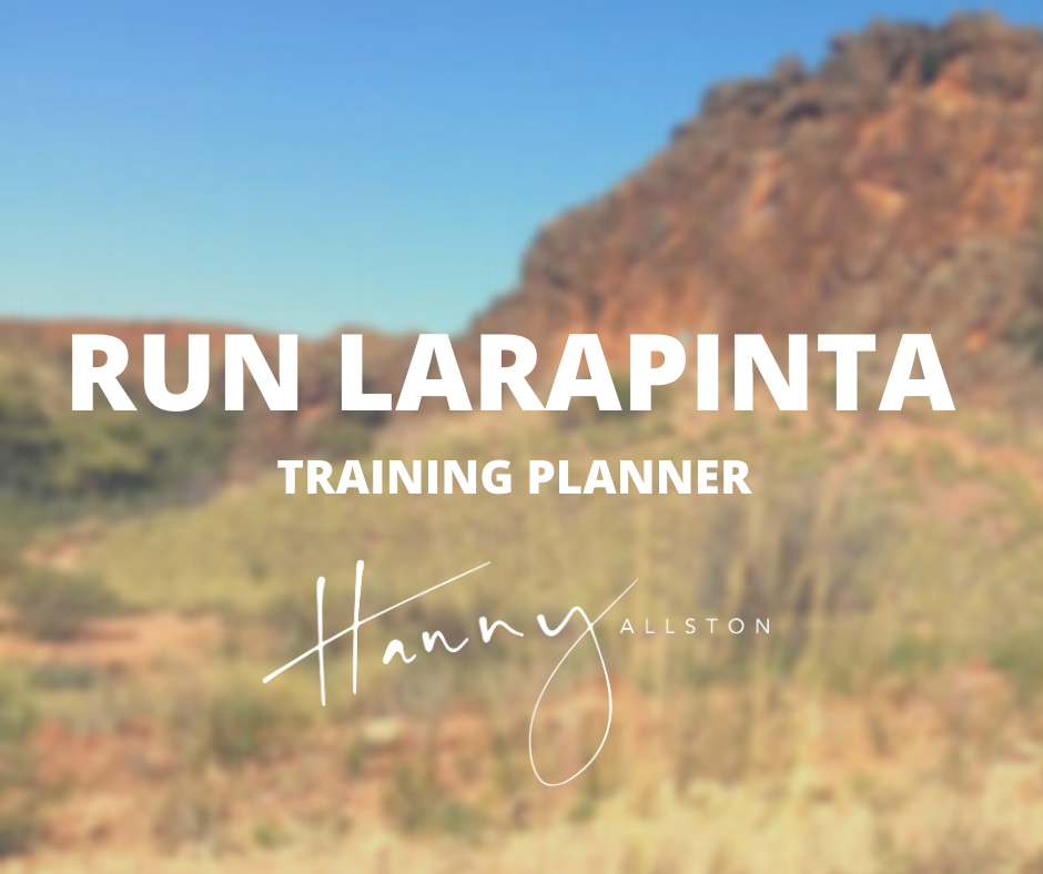 Run Larapinta Stage Race Training Plan Hanny Allston Find Your Feet